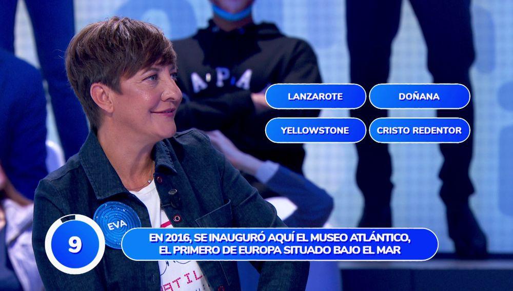 """Eva Hache, ovacionada tras estrenarse por todo lo alto en 'Pasapalabra': """"'El Rosco' no lo pienso hacer"""""""