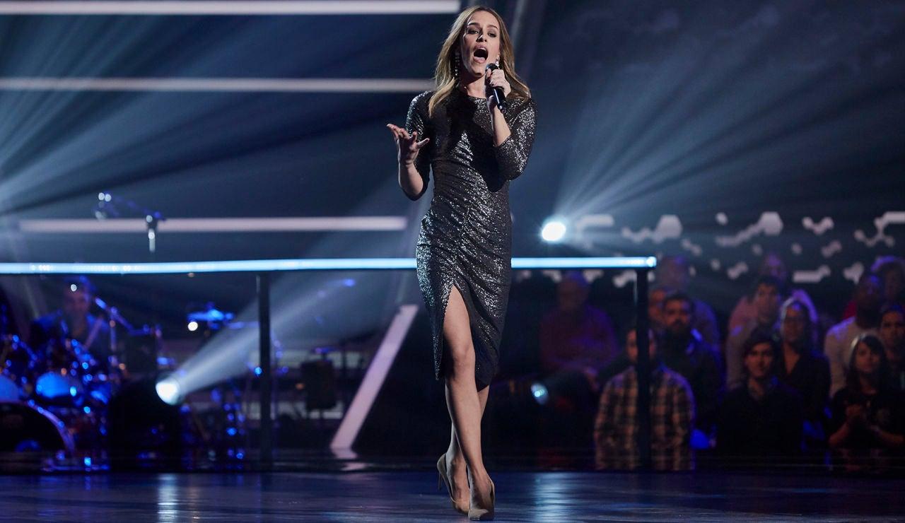Cristie Sánchez canta 'I say a little prayer' en los Asaltos de 'La Voz'