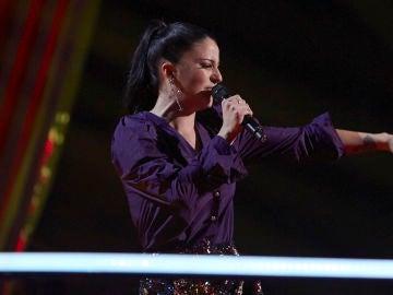 María Cortés canta 'Aire de molino' en los Asaltos de 'La Voz'