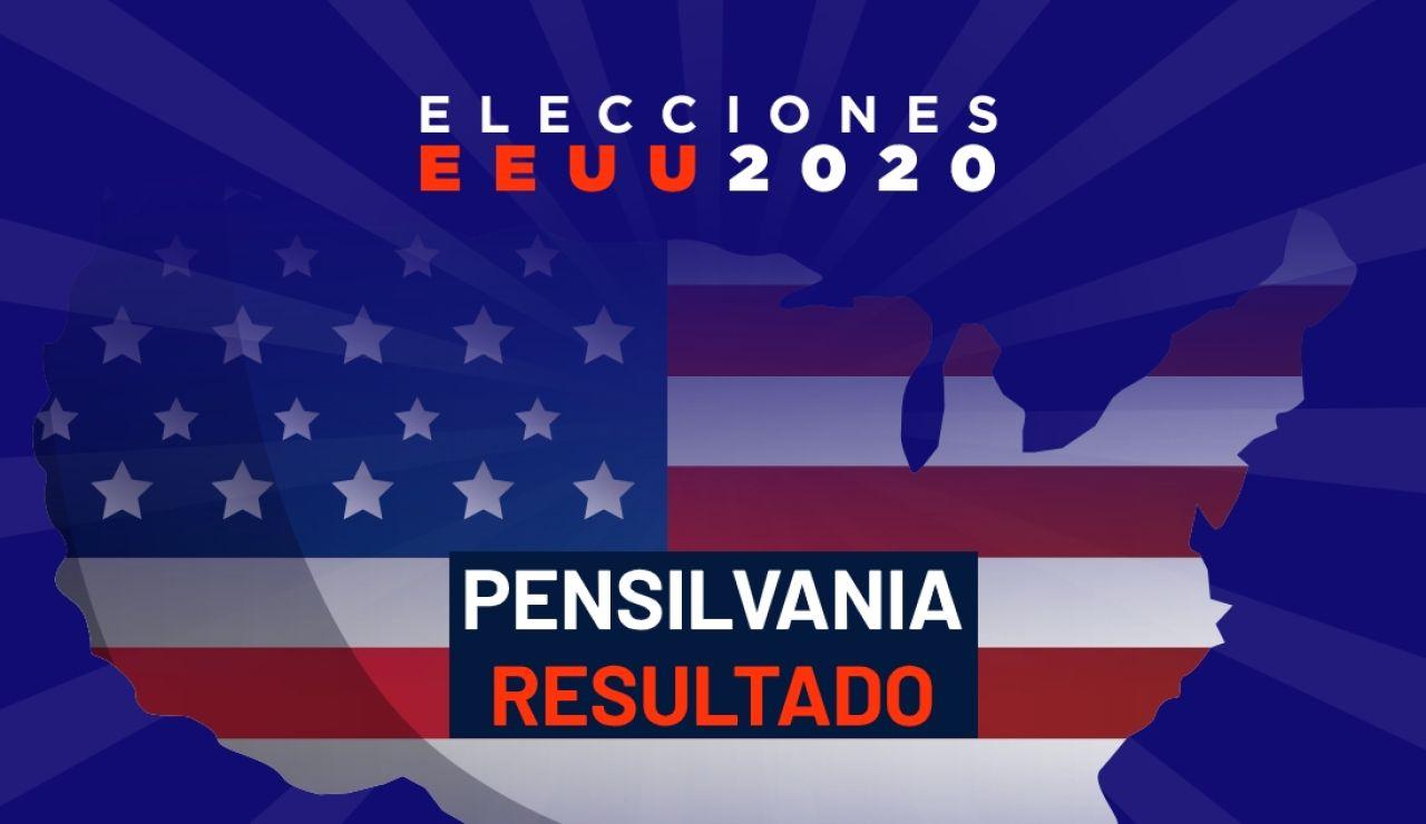 Resultado de las elecciones de Estados Unidos en Pensilvania en 2020