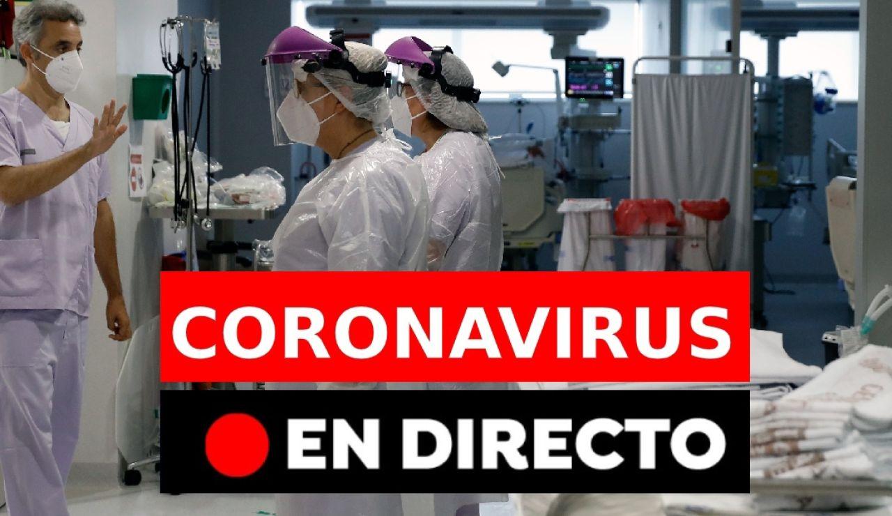 Coronavirus España: Última hora de los confinamientos y restricciones en directo