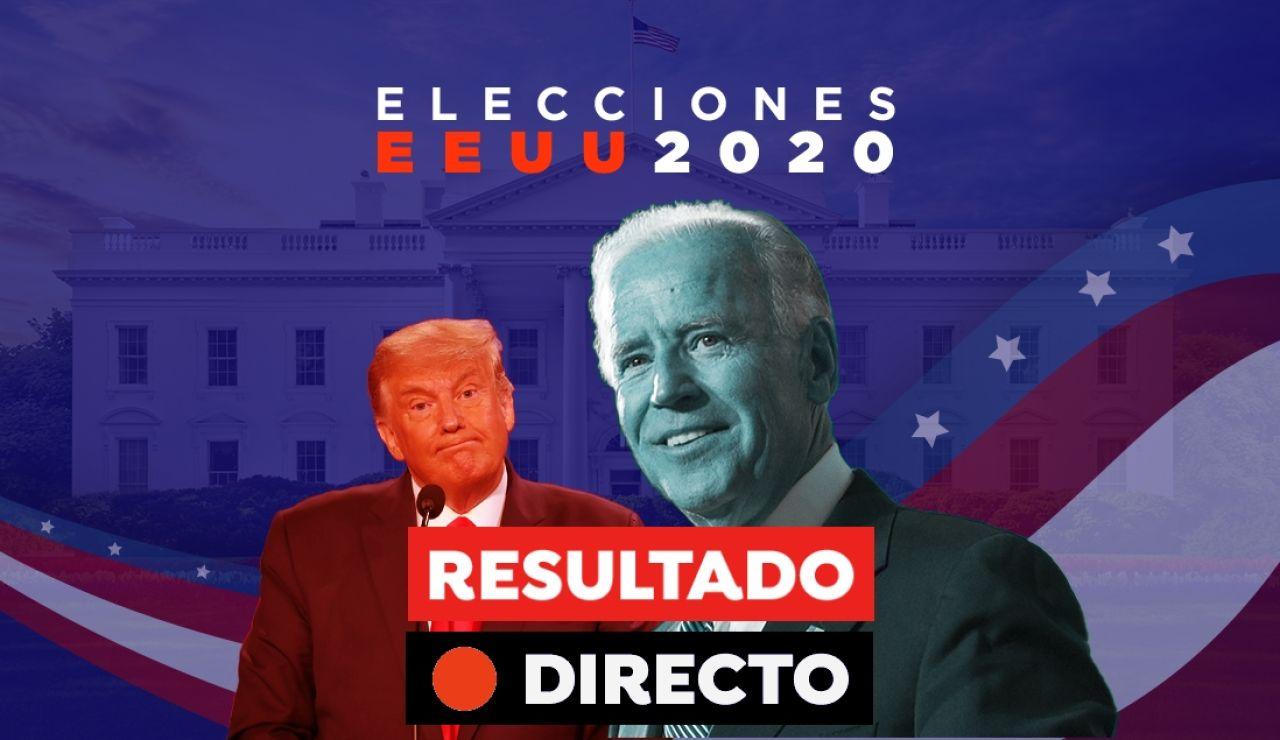 Resultado Elecciones EEUU 2020: Ganador de las elecciones y última hora de Donald Trump y Joe Biden, en directo