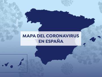 Coronavirus: Mapa de contagios y fallecidos por covid-19 en España y el mundo hoy