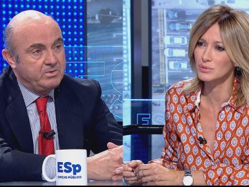 """Luis De Guindos considera que """"la economía española siempre sorprende para bien"""""""