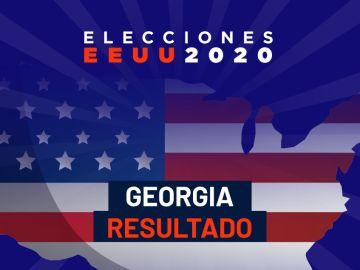 Resultado elecciones EEUU 2020 en Georgia, en directo