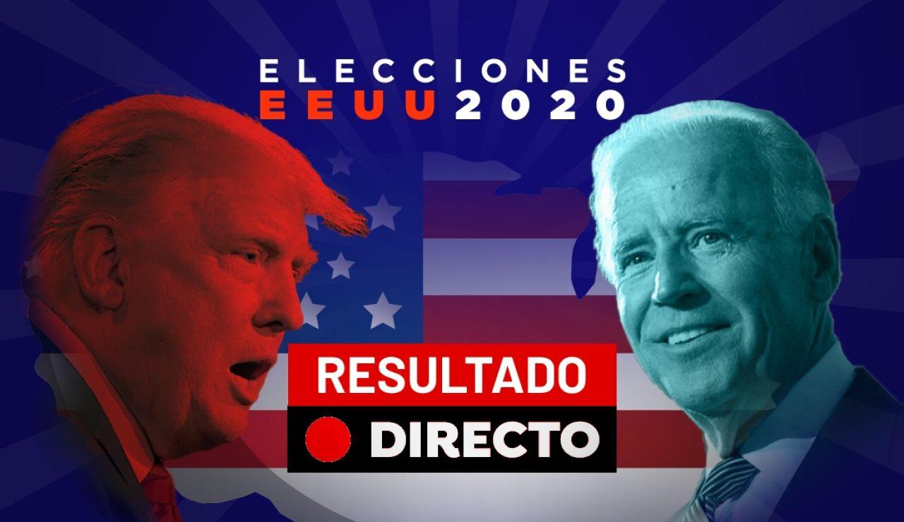 Resultado Elecciones EEUU 2020: Ganador, Donald Trump, Joe Biden y última hora, en directo
