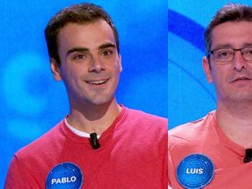 Pablo y Luis en 'Pasapalabra'