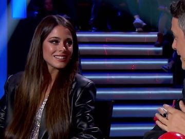 """""""Se le da fatal"""": Alejandro Sanz imita el acento argentino ante Tini en 'La Voz'"""