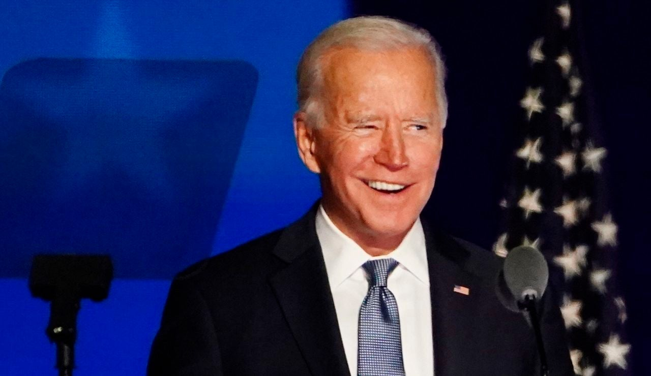 El candidato demócrata Joe Biden