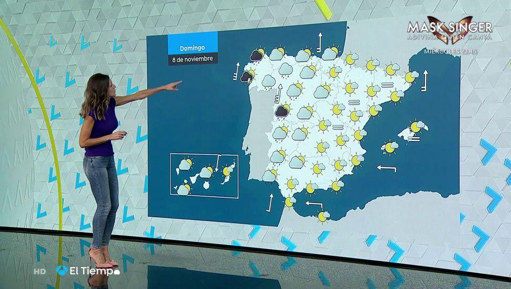 Tu Tiempo (07-11-20) Persisten las lluvias intensas en el centro, sur y oeste peninsular, pero a partir del lunes el tiempo se estabiliza y subirán algo las temperaturas.