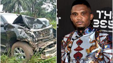 Samuel Eto'o, involucrado en un accidente en Camerún