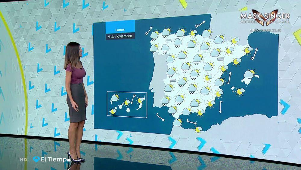Tu Tiempo (08-11-20) Precipitaciones y cielo nuboso para acabar la semana