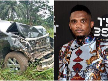 Samuel Eto'o sufre un accidente en Camerún
