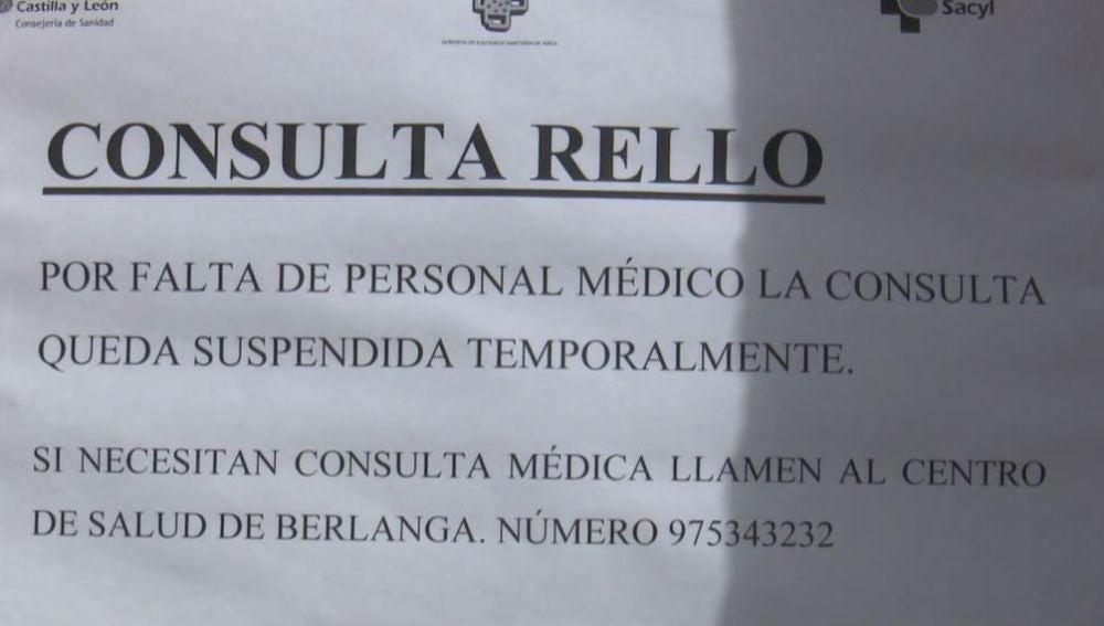 """Alarmante falta de médicos en varios pueblos de Soria: """"Vivimos cruzando los dedos para no ponernos malos"""""""