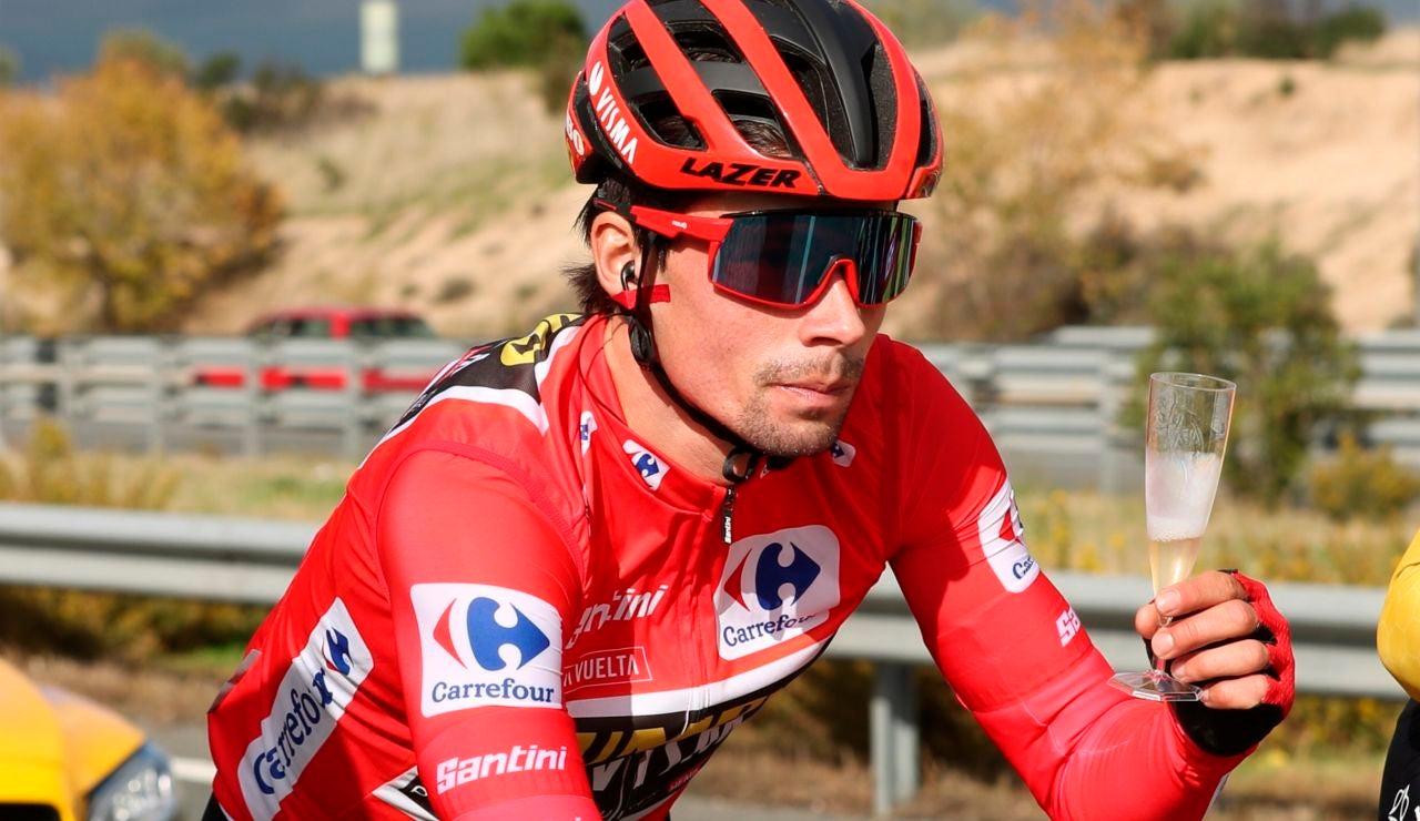Primoz Roglic, ganador de la Vuelta a España
