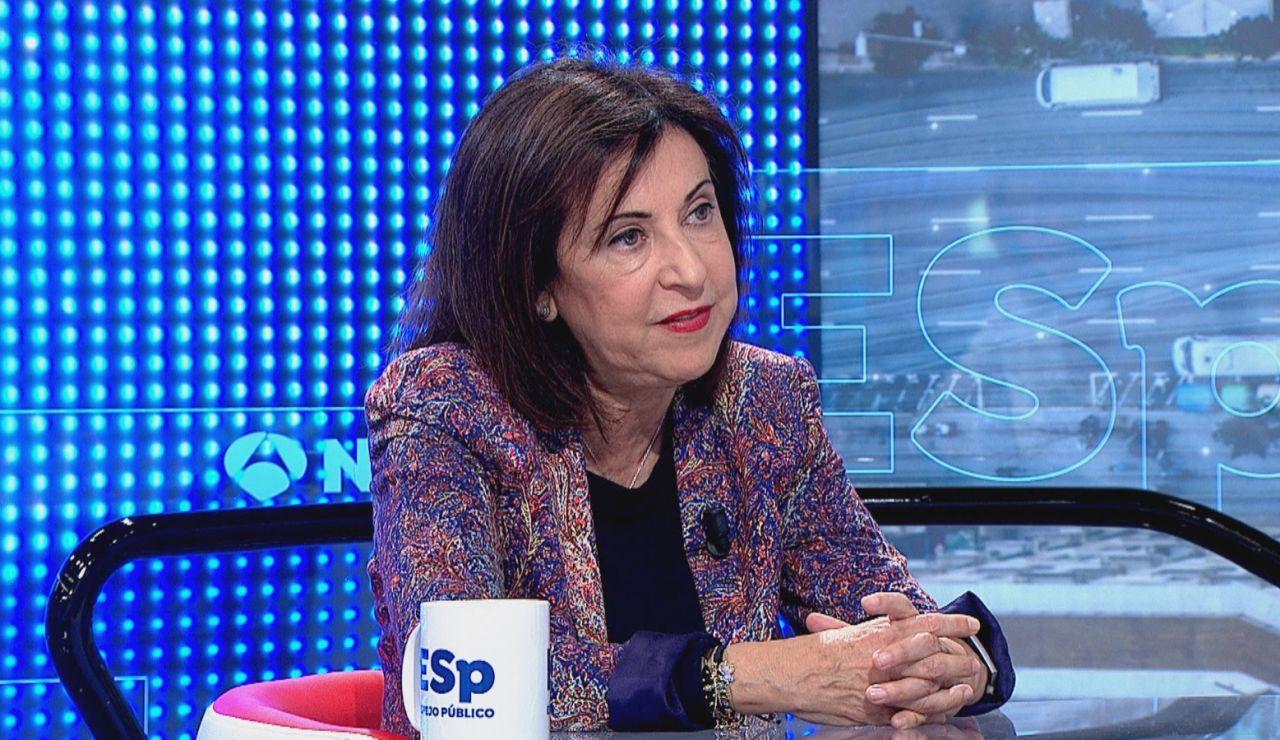 """Margarita Robles sobre el ministerio de la verdad: """"La desinformación es un arma y un gobierno tiene que estar preparado"""""""