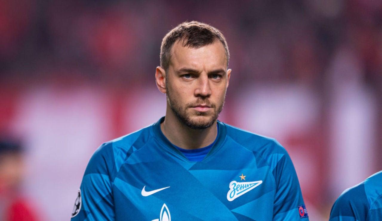 Artiom Dzyuba, capitán de la selección rusa