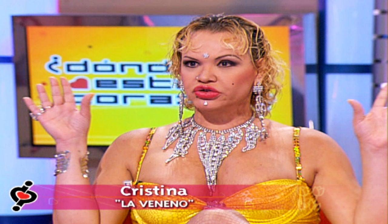 Cristina Ortiz, 'La Veneno', en el programa '¿Dónde estás corazón?'