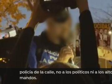 Manifestación de policías