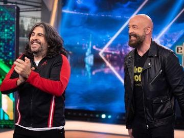 Revive la entrevista completa de J.J. Vaquero y Goyo Jiménez en 'El Hormiguero 3.0'