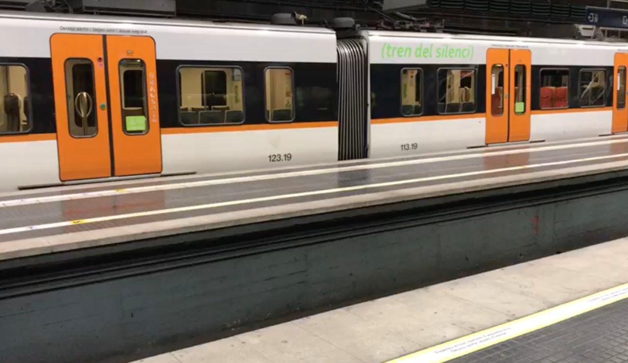Tren del silencio en Tarragona para evitar la expansión del coronavirus