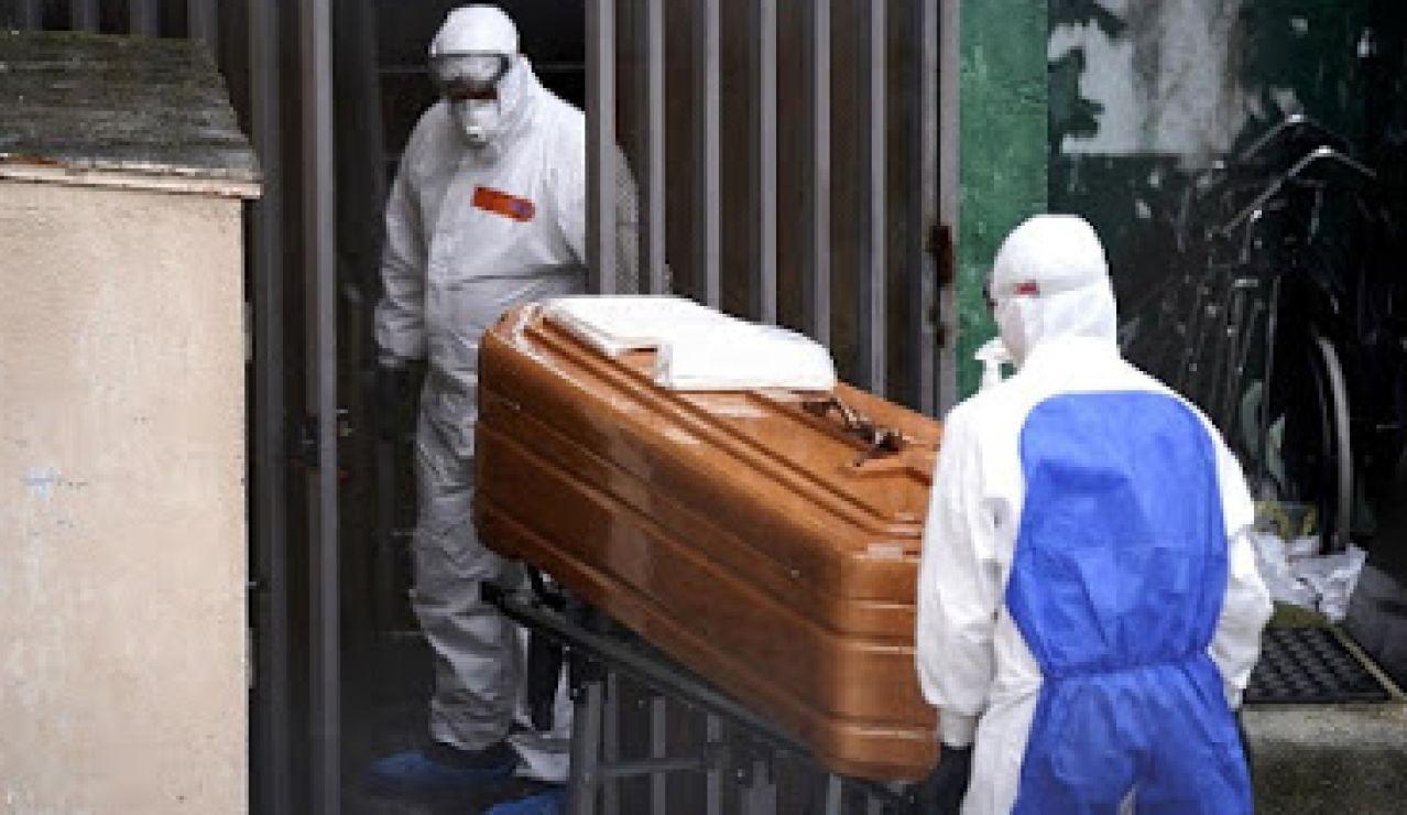 Ancianos fallecidos por coronavirus en residencias