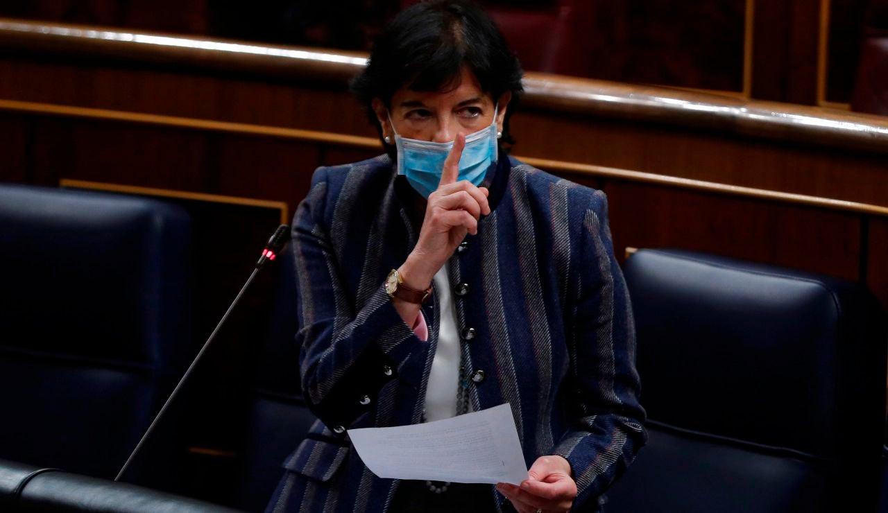 NO UTILIZAR La ministra de Educación, Isabel Celaá