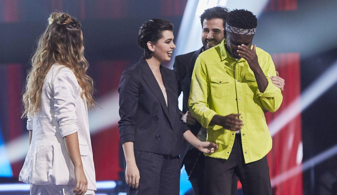 Kelly y Paula Espinosa, los semifinalistas del equipo de Laura Pausini en 'La Voz'