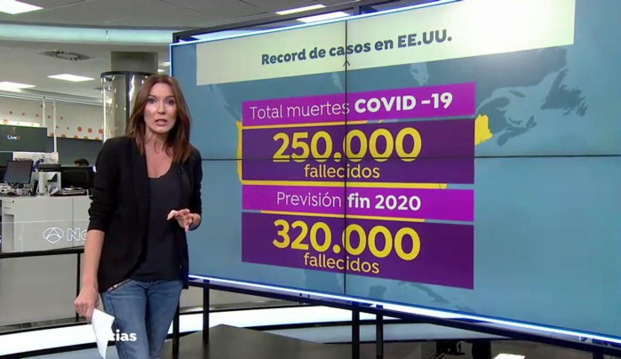Estados Unidos registra su cifra más alta de contagios de coronavirus, superando los 200.000 en solo un día