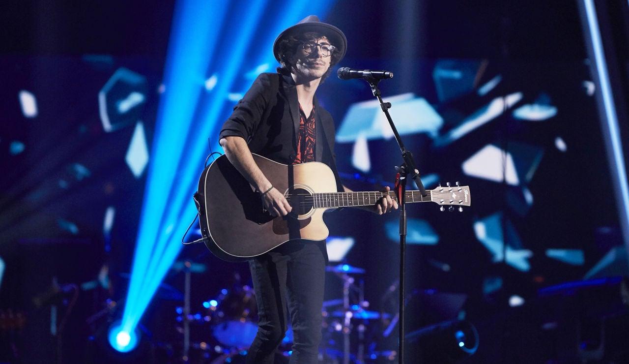 Sergio Chaves canta 'Pausa' en la Fase Final de 'La Voz'
