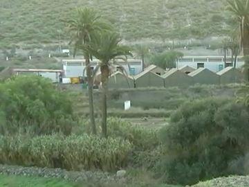 Campamento militar Canarias