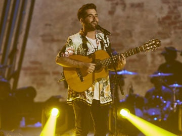 Miguelichi López canta 'Al mar' en la Fase Final de 'La Voz'