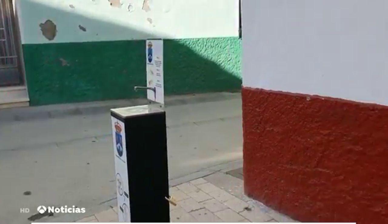 Ballobar ironiza en un bando municipal sobre el robo de 20 litros de gel hidroalcohólico