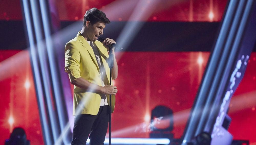 Roger Padrós canta 'Feeling good' en la Fase Final de 'La Voz'