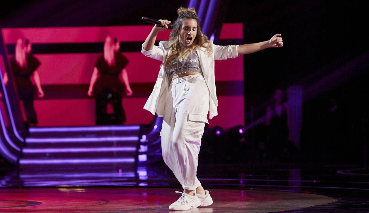 Carlota Palacios canta 'Don't start now' en la Fase Final de 'La Voz'