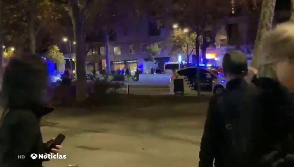 La Guardia Urbana dispara a una persona aa