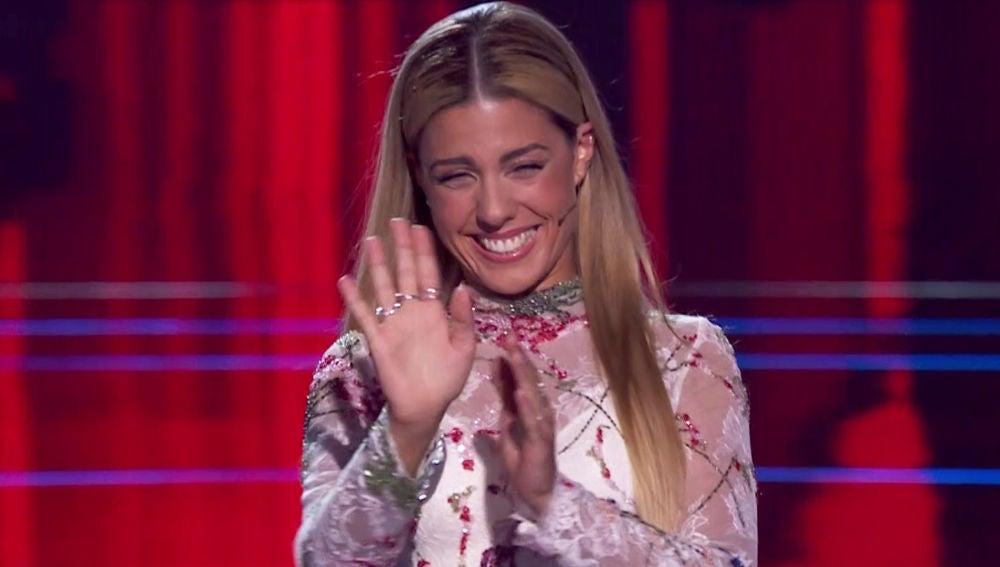 La emocionante reacción de Pablo López ante el regreso a lo grande de Miriam Rodríguez al escenario de 'La Voz'