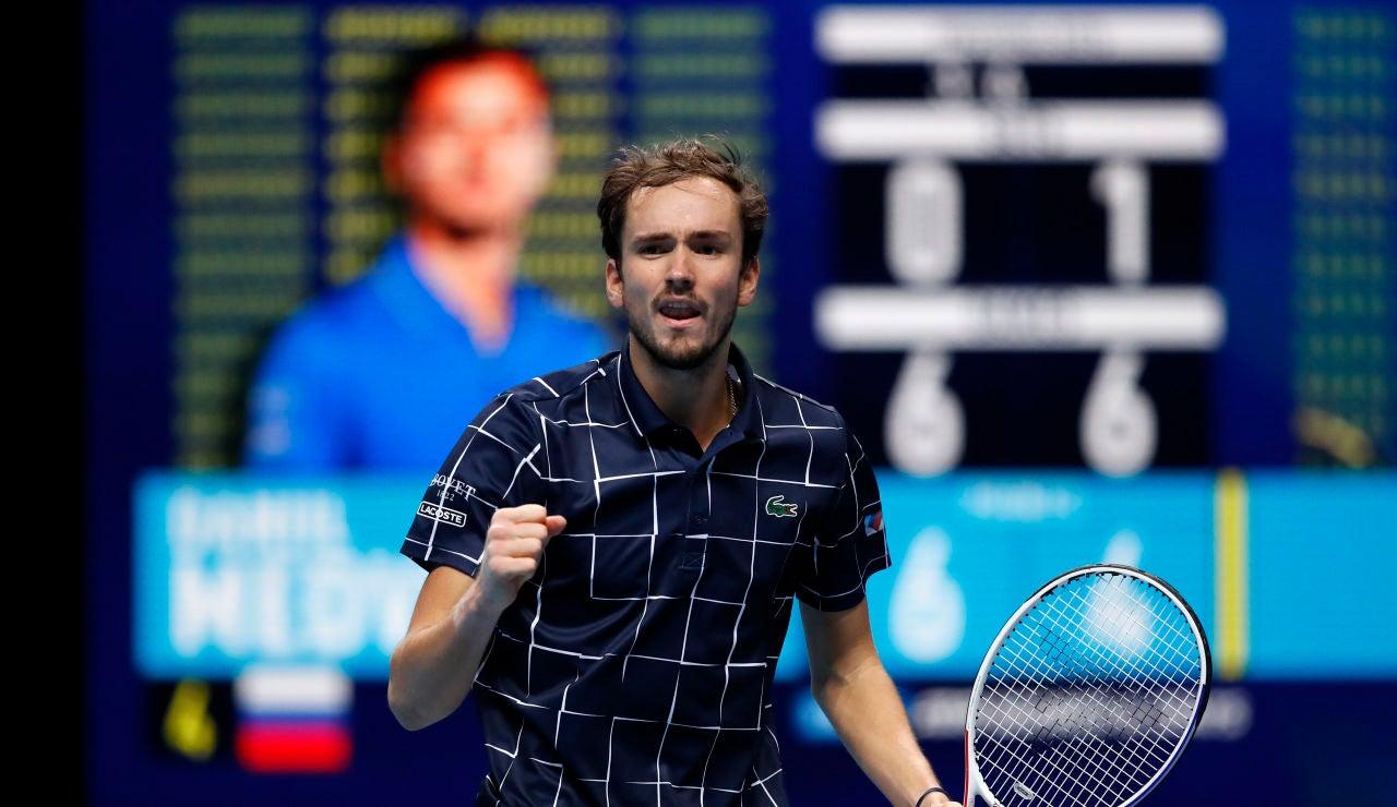 Medvedev se mete en la final el torneo de maestros