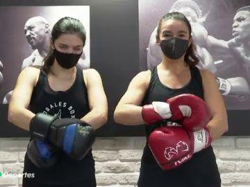 Virginia e Irene, una historia de boxeo de alta costura