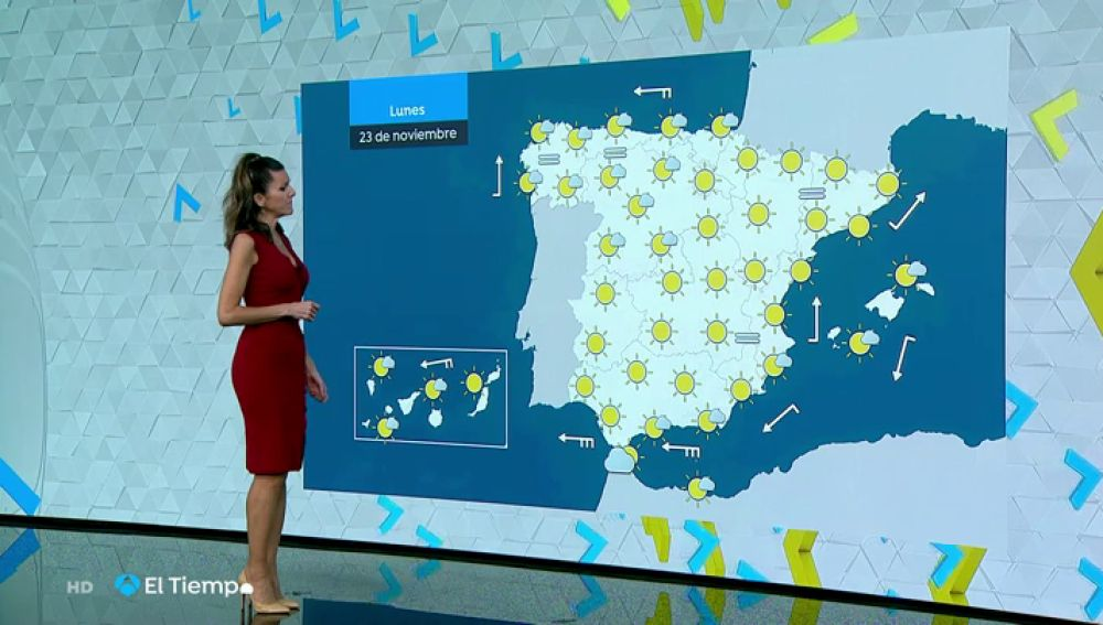 Previsión meteorológica de este lunes: temperaturas sin cambios, heladas débiles en el norte y cielos despejados