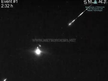 Hasta tres bolas de fuego sobrevolaron el cielo de España a más de 100 mil km/h