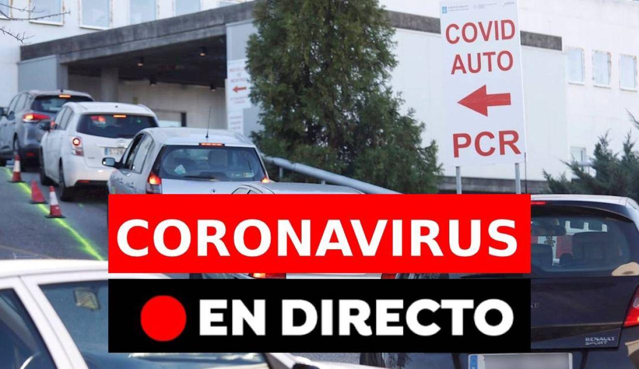 Coronavirus España: Cierres perimetrales, confinamientos, nuevos casos y última hora de hoy, en directo