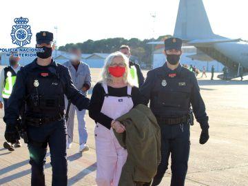 La Policía Nacional traslada a España a la etarra Natividad Jáuregui tras 30 años huida de la Justicia