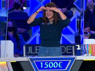 """Jorge Fernández alucina con el gran valor de una concursante de 'La ruleta de la suerte': """"Eso es tenerlos cuadrados"""""""