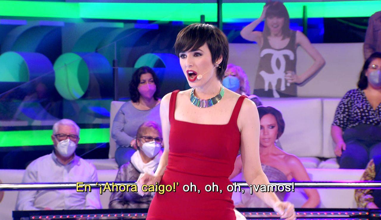 Arturo Valls y Mireia, dueto estilo 'Grease' emulando a John Travolta y Olivia Newton-John