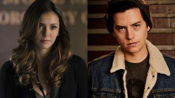 Nina Dobrev en 'Crónicas vampíricas' y Cole Sprouse en 'Riverdale'
