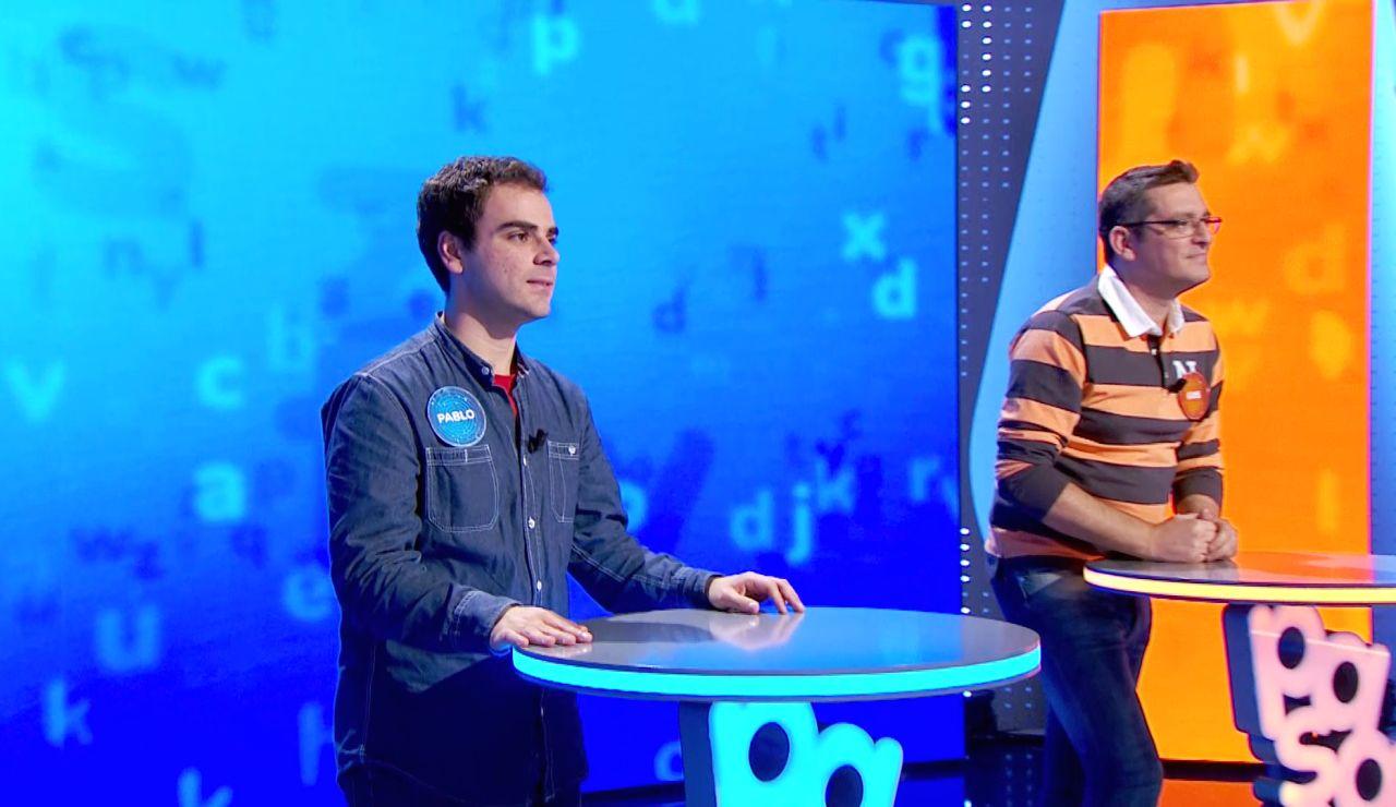Luis arriesga al máximo en 'El Rosco' y deja a Pablo la presión de superarle: ¡emoción hasta el final con 910.000 euros en juego!