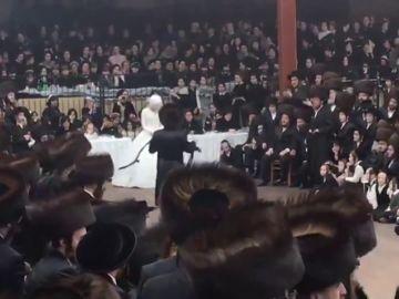 Boda judía con 7.000 invitados en plena pandemia