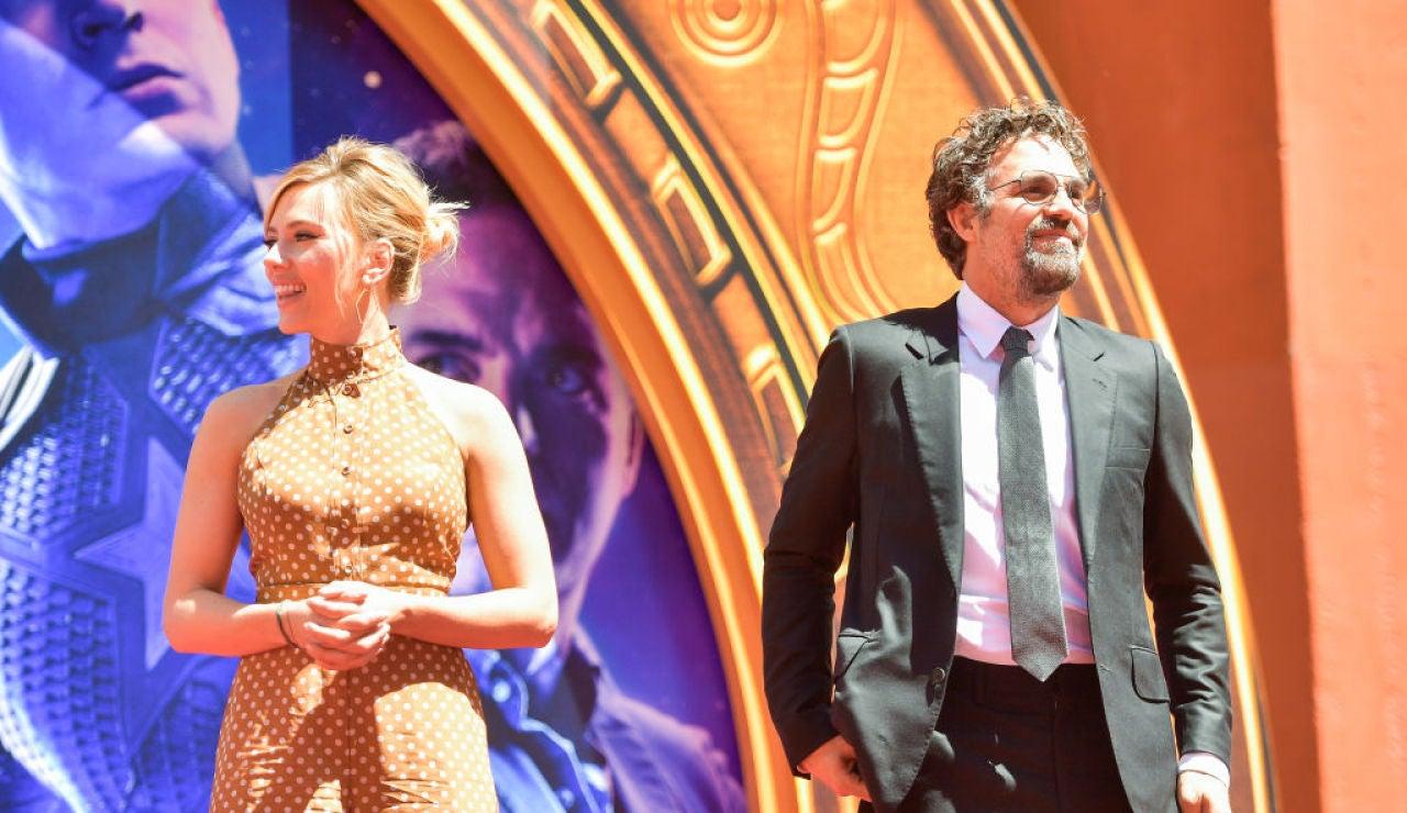 Scarlett Johansson y Mark Ruffalo