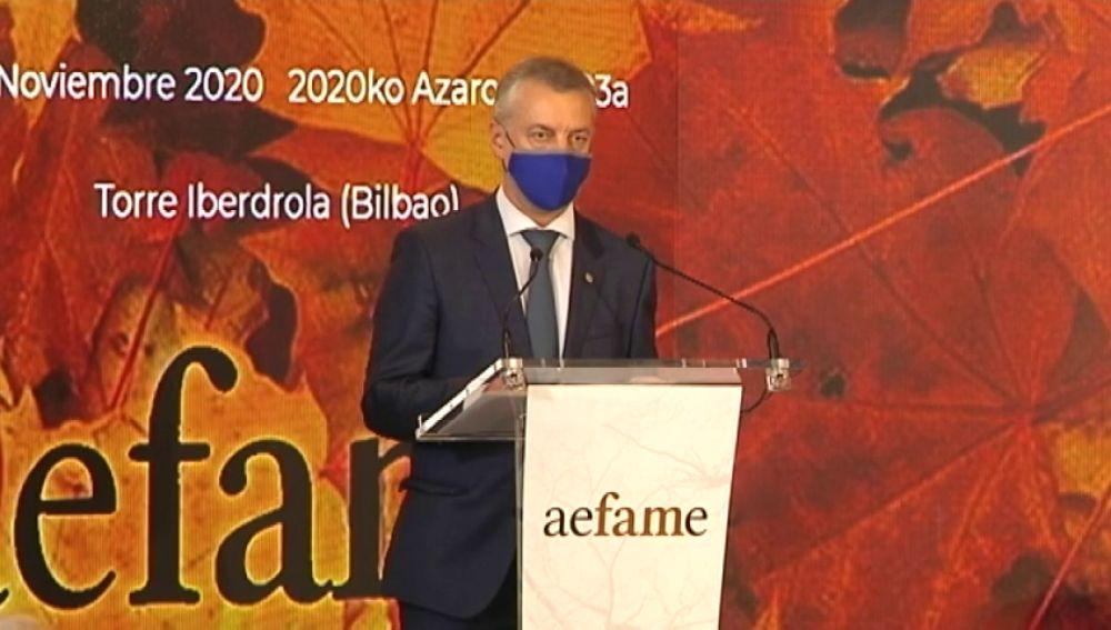 El Gobierno vasco critica que Pedro Sánchez anuncie un plan de vacunación contra el coronavirus sin contar con ellos